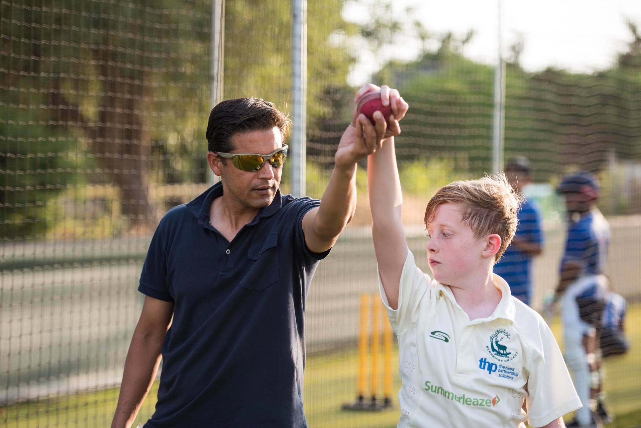 Kids Cricket skill development